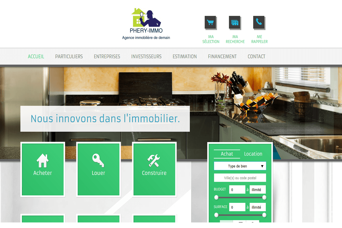 DigitalGabon phery-immo site web